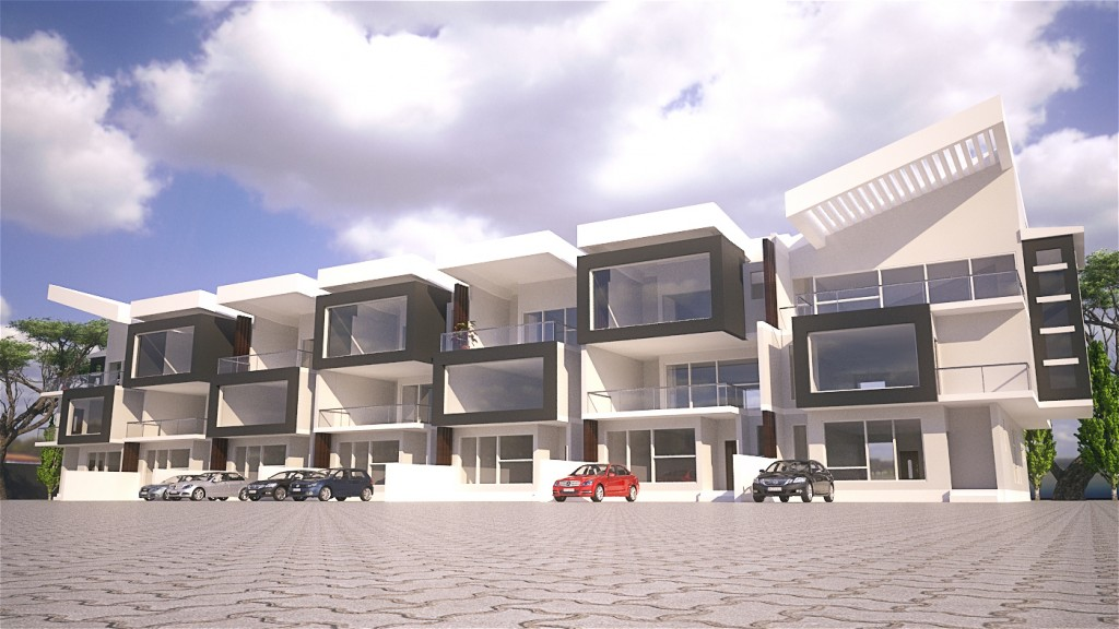 12 units Terrace Town Houses in FCT ABUJA