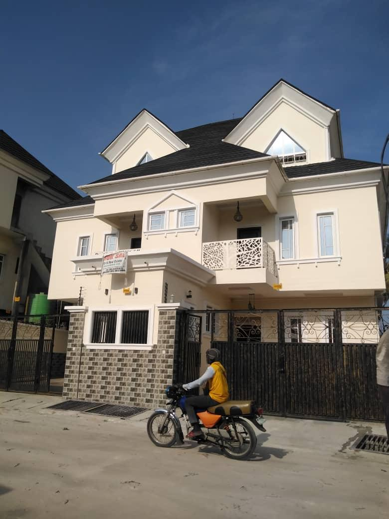 5 Bedroom Twin Duplex at Osapa Lekki Lagos